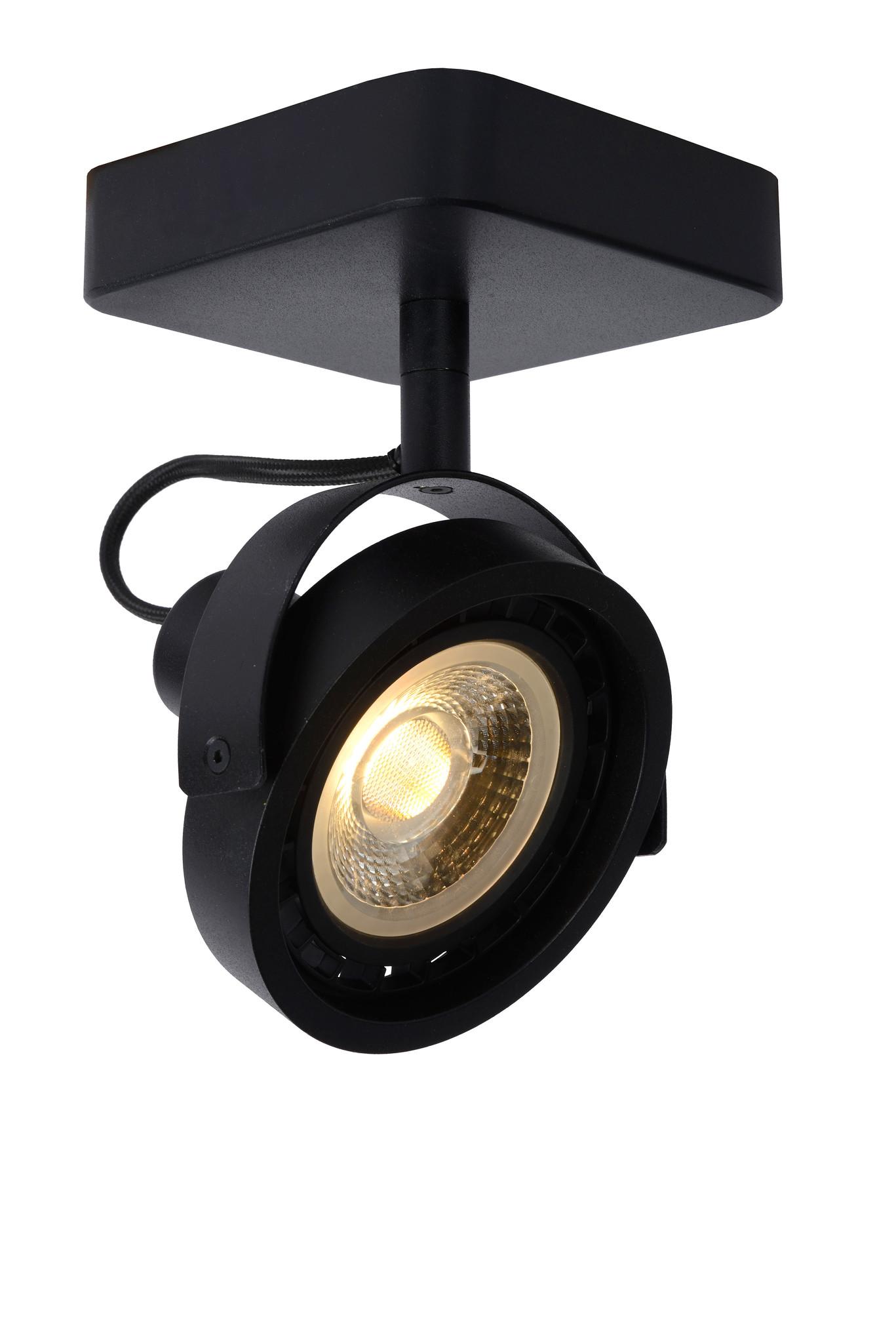 Lucide TALA LED Spot GU10/12W DTW Zwart