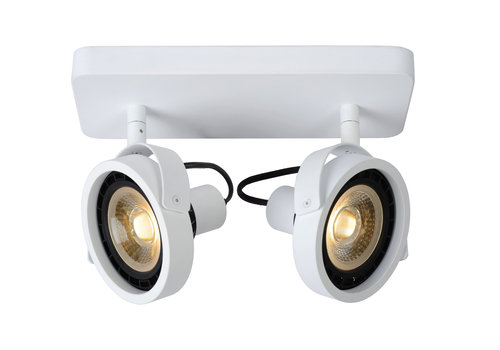 Lucide TALA LED Spot  2xGU10/12W DTW Wit