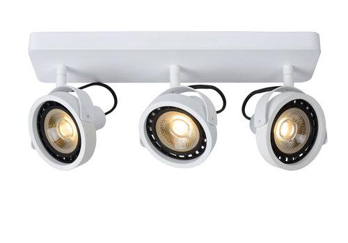 Lucide TALA LED Plafondspot-Wit-LED DTW-3xGU10-12W