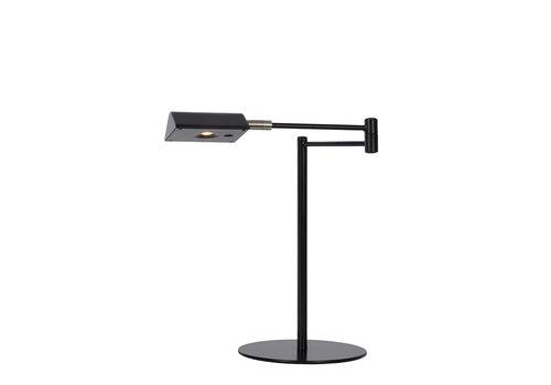 Lucide NUVOLA Bureaulamp-Zwart-Ø20-LED Dimb.-9W-3000K