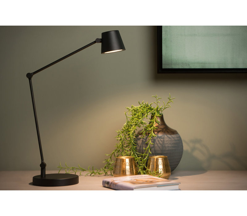 JORIUS  Bureaulamp Led 8W Zwart