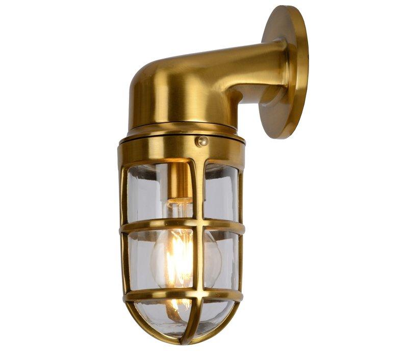 DUDLEY Buiten Wandlamp Down IP44 E27/60W Mat goud
