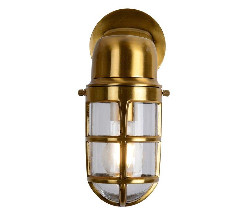 DUDLEY Buiten Wandlamp Down IP65 E27/40W Mat goud