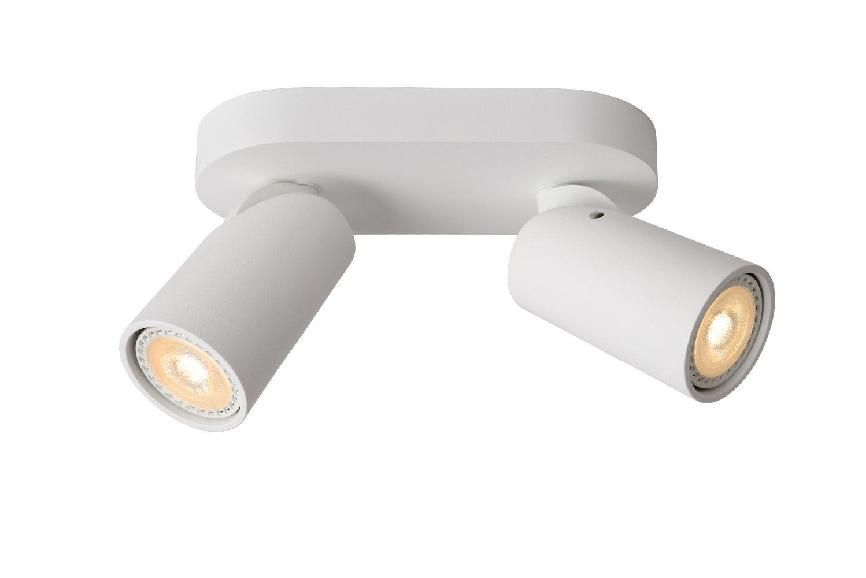 Lucide XYRUS Plafondspot-Wit-LED DTW-2xGU10-5W