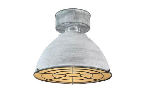 Highlight Plafondlamp Industrial beton Ø 38 cm grijs