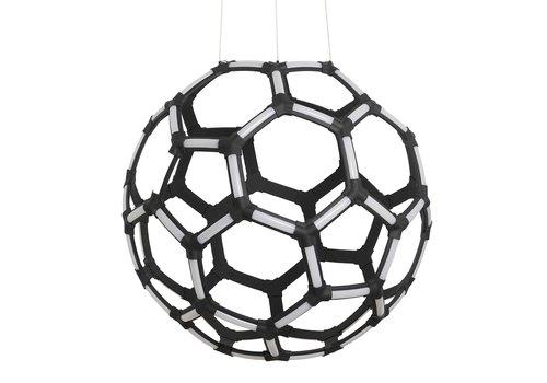 Highlight Hanglamp Global Ø 60 cm zwart