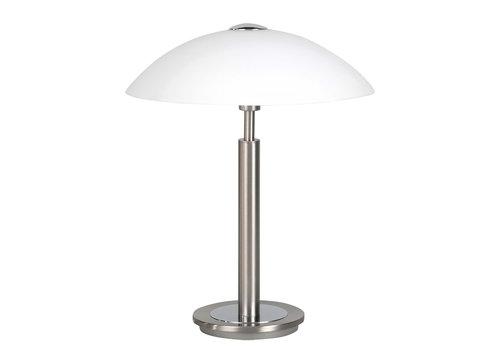Highlight Tafellamp Touch H 35 cm Ø 30 cm mat chroom