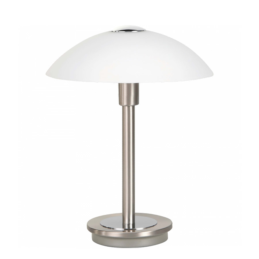 Highlight Tafellamp Touch H 26 cm Ø 20 cm mat chroom