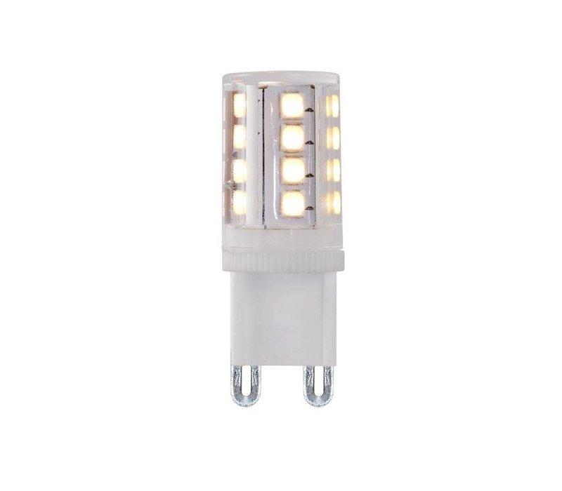Tafellamp Touch H 35 cm Ø 30 cm mat chroom