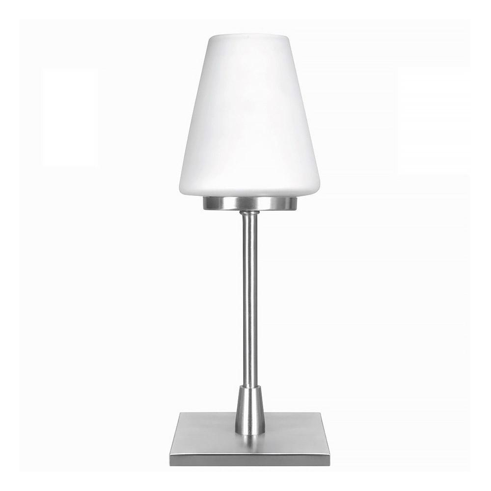 Highlight Tafellamp Oscar touch H 27 cm Ø 10 cm mat chroom