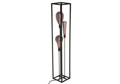 Freelight Vloerlamp Palco 161x28 cm zwart