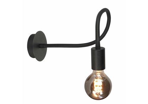 Highlight Wandlamp Flex  50 cm E27 zwart