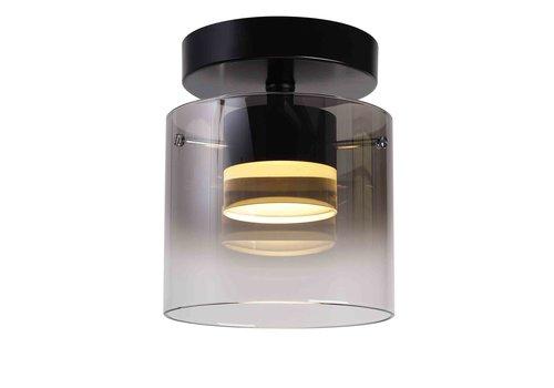 Highlight Plafondlamp Salerno 1 lichts Ø 16 cm zwart