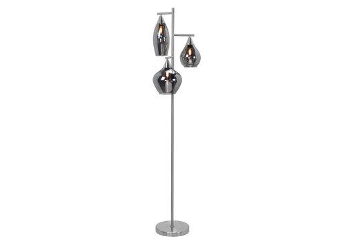 Highlight Vloerlamp Cambio 3 lichts 160 cm mat chroom