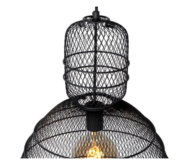 GASSET Hanglamp 1xE27 Zwart
