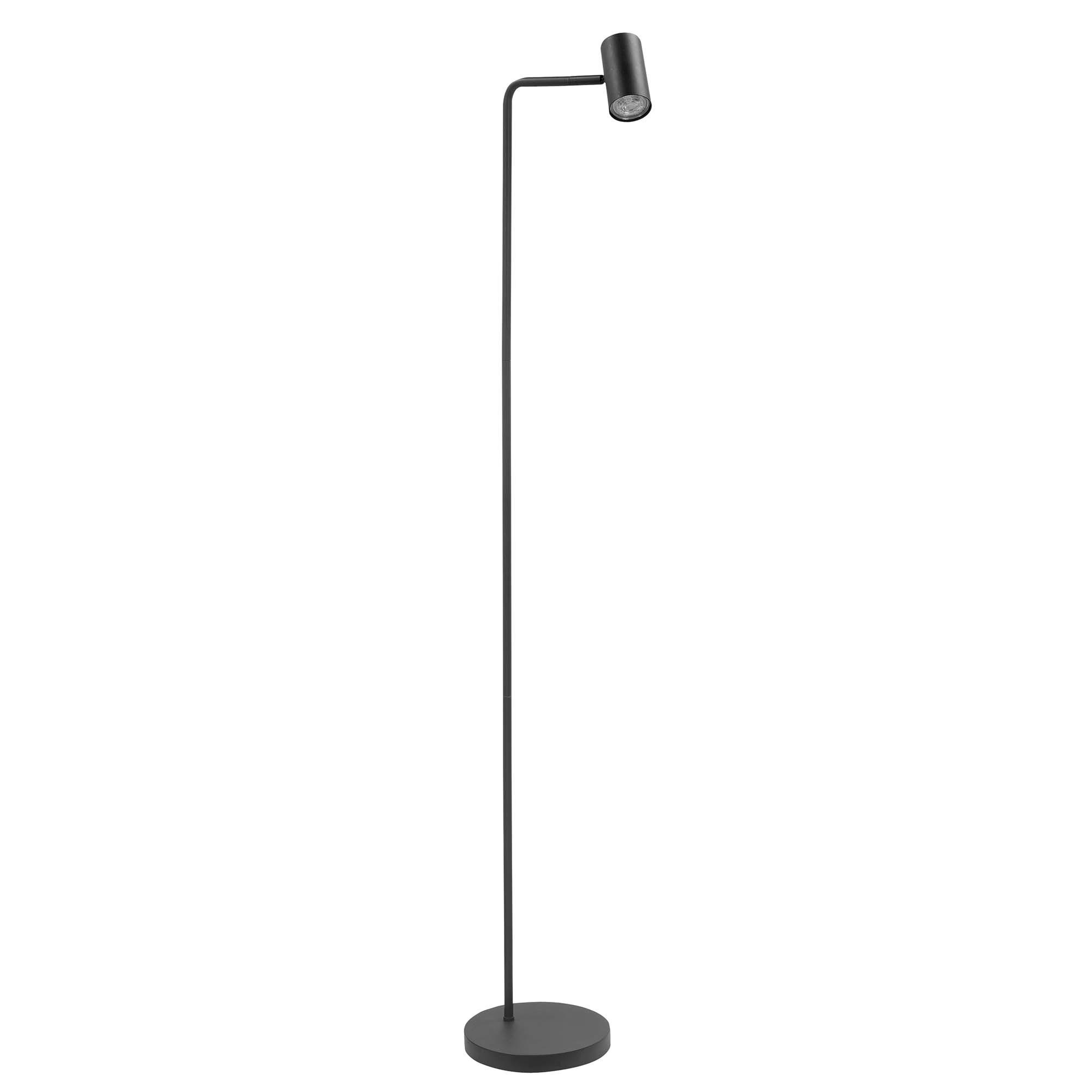 Highlight Vloerlamp Burgos 1 lichts H 134 cm zwart