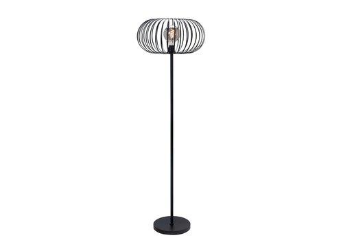 Highlight Vloerlamp Bolato H 164 cm  Ø 50 cm zwart