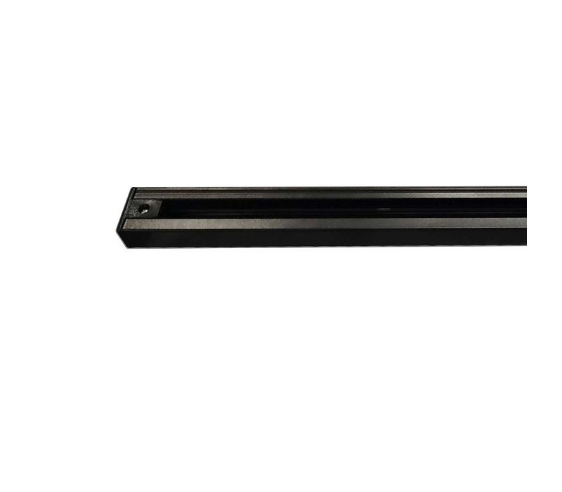 Railsysteem Trackline 150 cm + 4 cilinder spots zwart