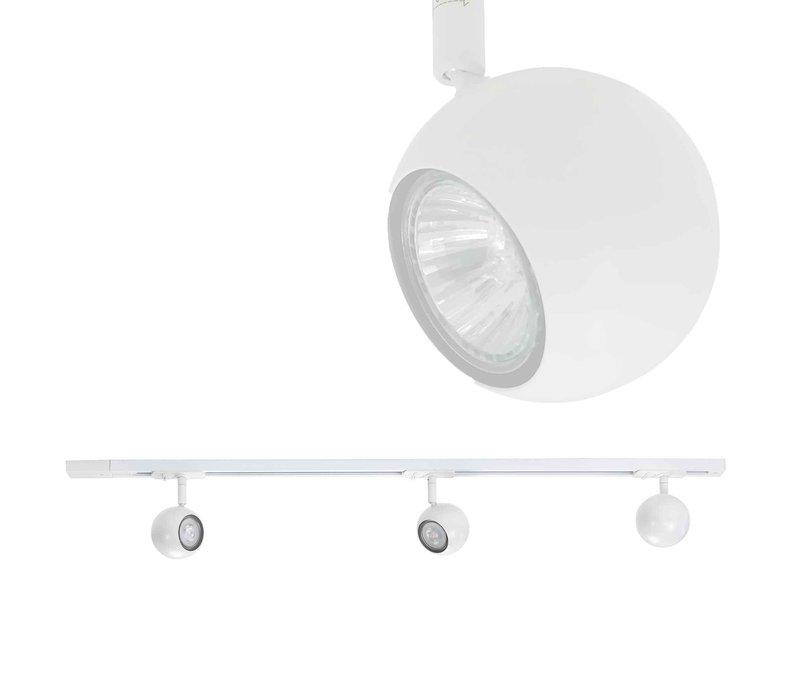 Hanglamp adapter Trackline wit