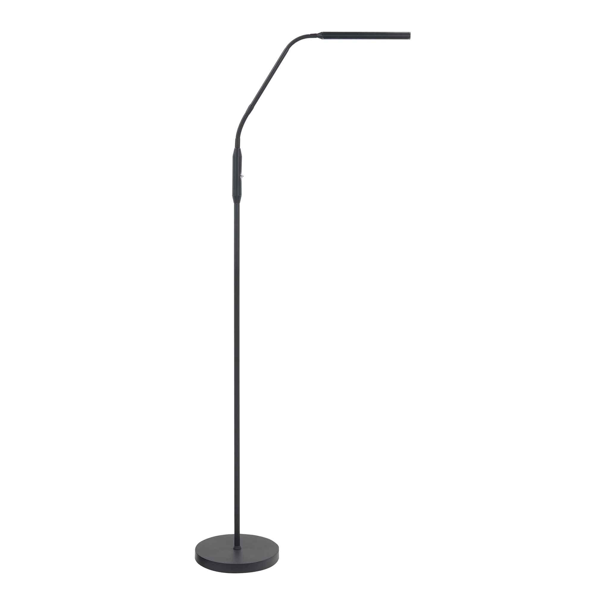 Highlight Vloerlamp Murcia H 145 cm zwart