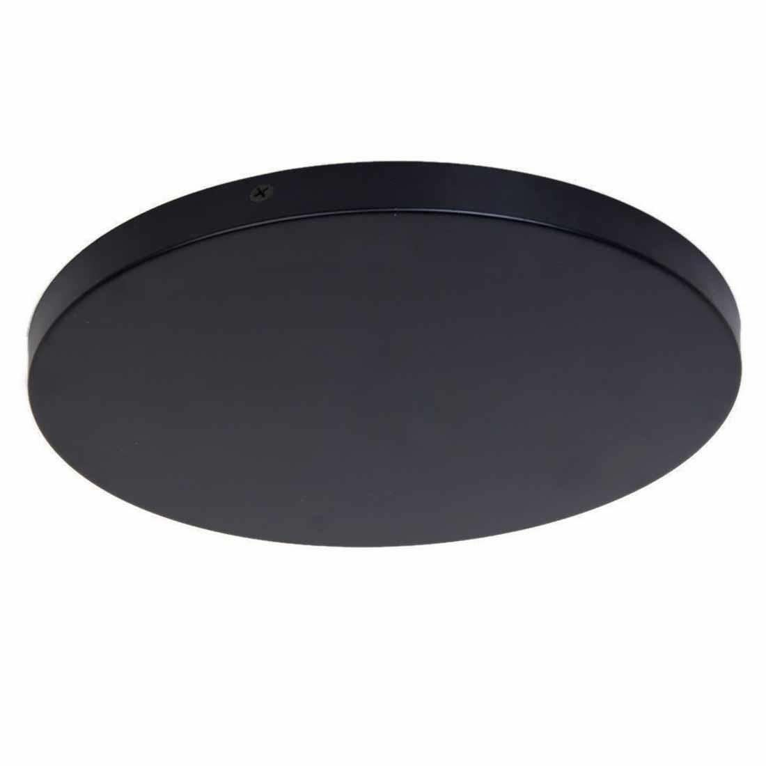 Freelight Plafondplaat Ø 45 cm zonder gaten zwart
