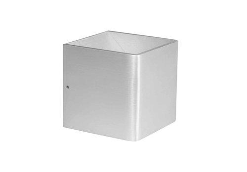 Highlight Wandlamp Stretto 6 Watt 10x10 cm mat chroom