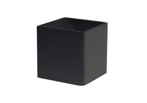 Highlight Wandlamp Stretto 6 Watt 10x10 cm zwart