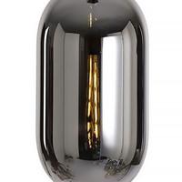 Hanglamp Fantasy 6 lichts L 100 x  B 35 cm rook glas