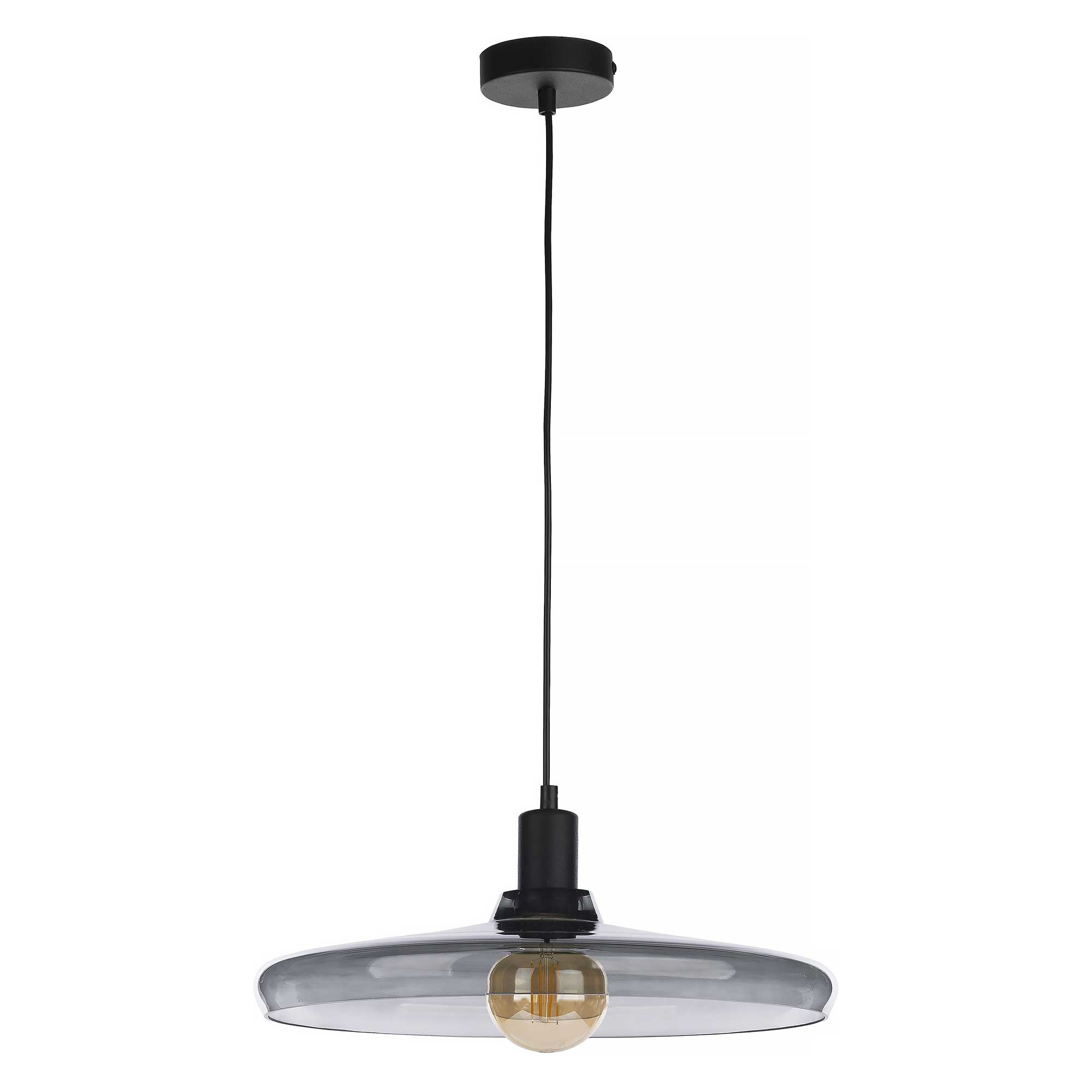 Nowodvorski Hanglamp Libra Ø 40 cm rook zwart
