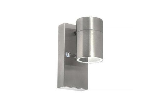 Lamponline Buitenlamp Sense incl. LED 1 lichts dag nacht sensor Mat chroom