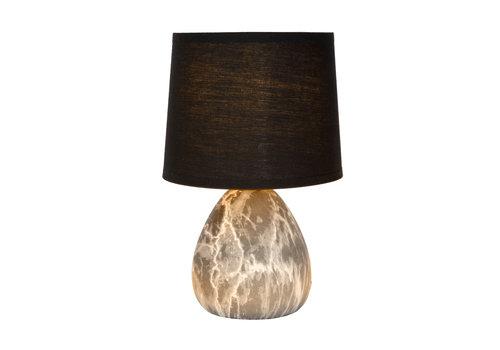 Lucide MARMO Tafellamp E14/4W Zwart