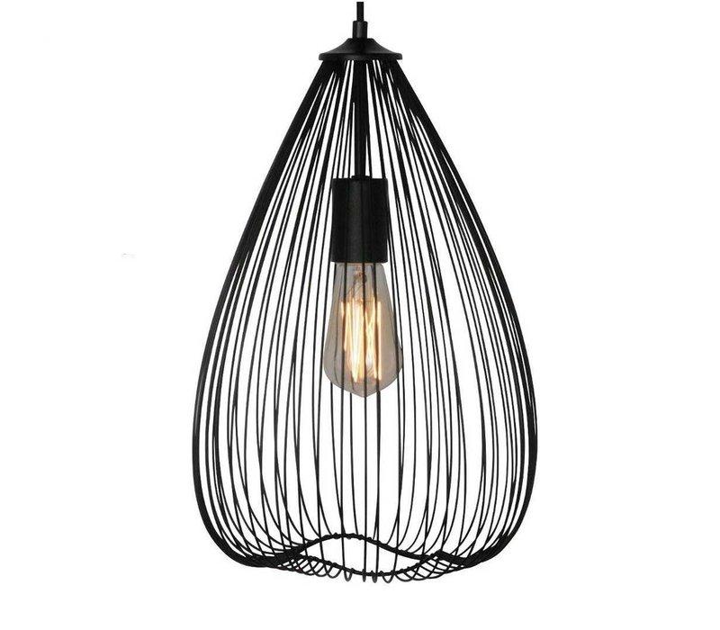 Hanglamp Nador Ø 25 cm zwart