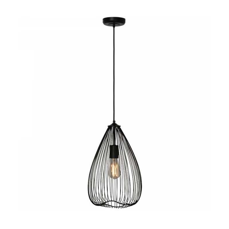freelight Hanglamp Nador Mat Zwart 25cm