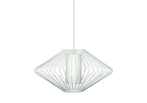 Freelight Hanglamp Blaze Ø 70 cm wit