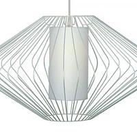 Hanglamp Blaze Ø 70 cm wit