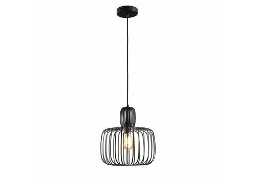 Freelight Hanglamp Costola Ø 35 cm zwart