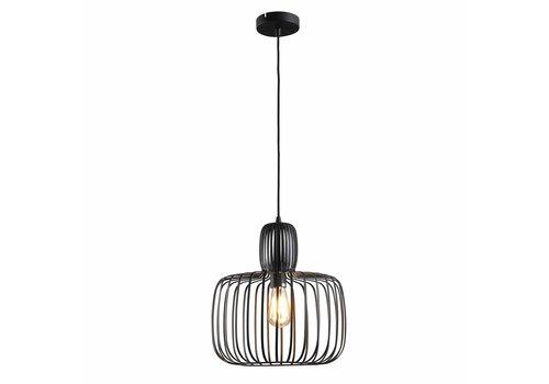 Freelight Hanglamp Costola Ø 45 cm zwart