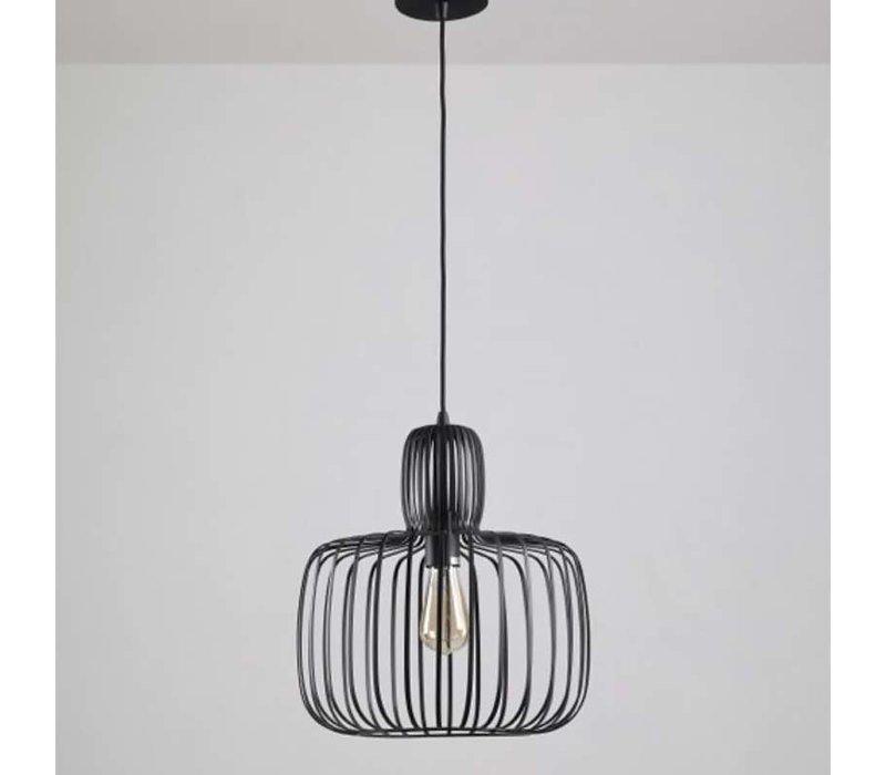 Hanglamp Costola Ø 45 cm zwart