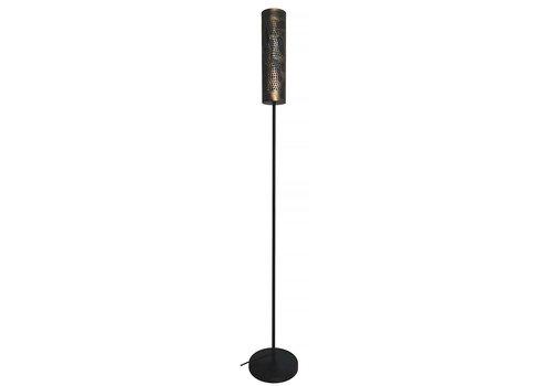 Freelight Vloerlamp Forato H 175 cm bruin zwart