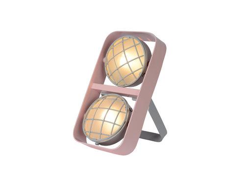 Lucide RENGER Tafellamp 2xG9 /25W Roze