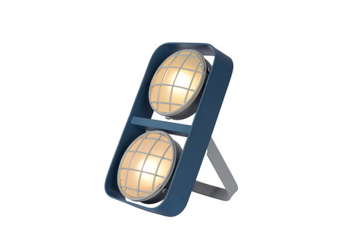 Lucide RENGER Tafellamp 2xG9 /25W Blauw