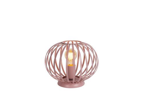 Lucide MERLINA Tafellamp Kinder-Roze-Ø25,5-1xE27-40W