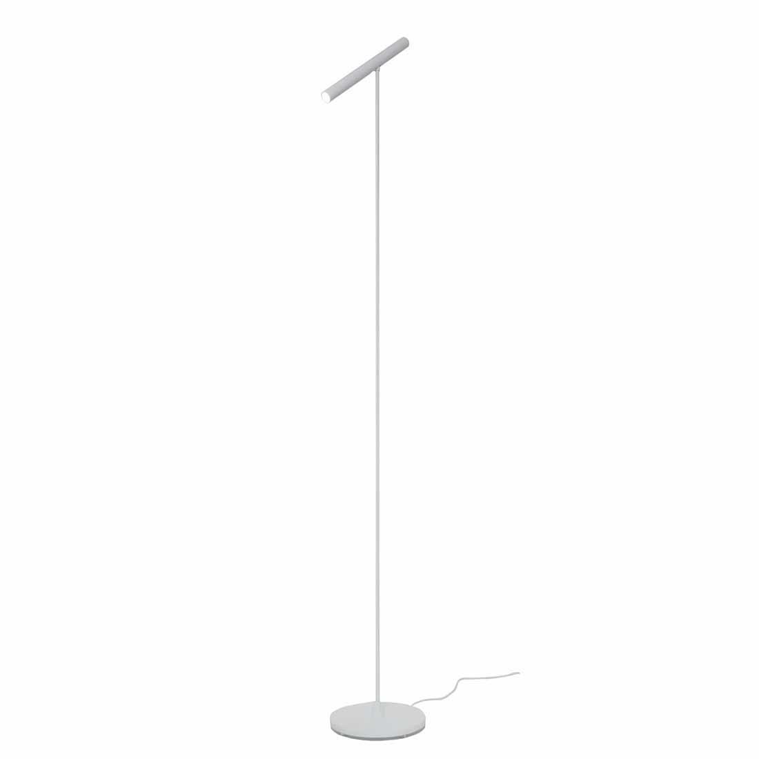Artdelight Vloerlamp Harper H 140 cm sensor dimmer wit