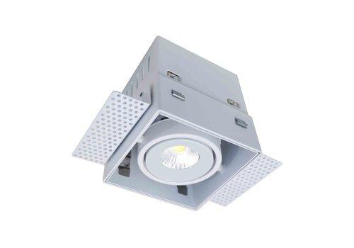 Artdelight Inbouwspot Trofa 1 lichts GU10 Trimless wit
