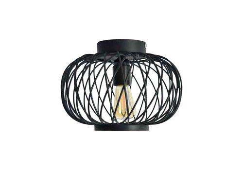 Urban Interiors Plafondlamp Twist Small Ø 25 cm zwart