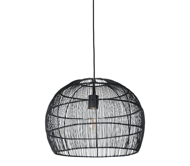 Hanglamp Frenk Ø 42 cm ijzerdraad Zwart