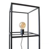 Vloerlamp Frame H 120 cm B 30 cm zwart