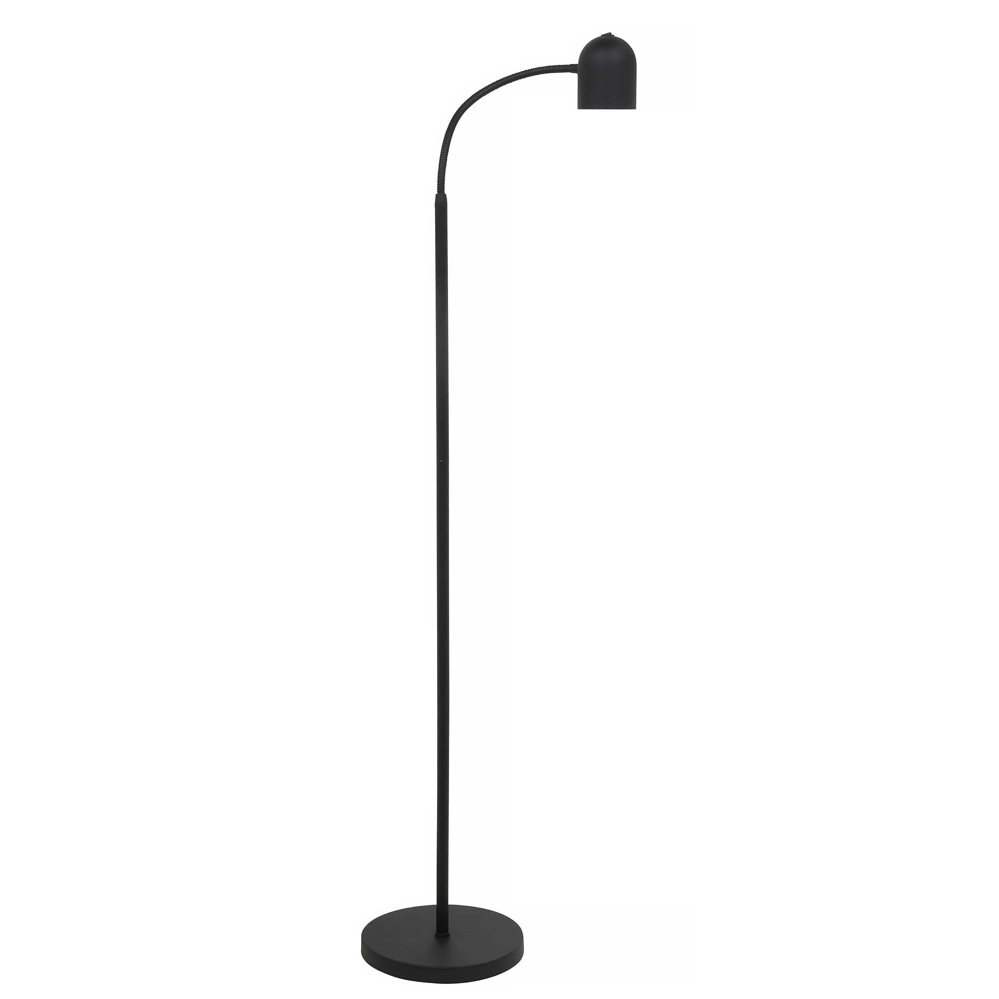 Highlight Vloerlamp Umbria flex H 120 cm zwart