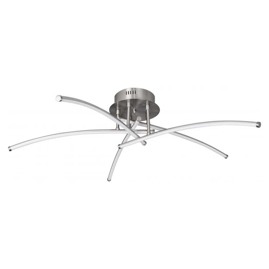 Highlight Plafondlamp Proud Ø 95 cm 36 Watt mat chroom
