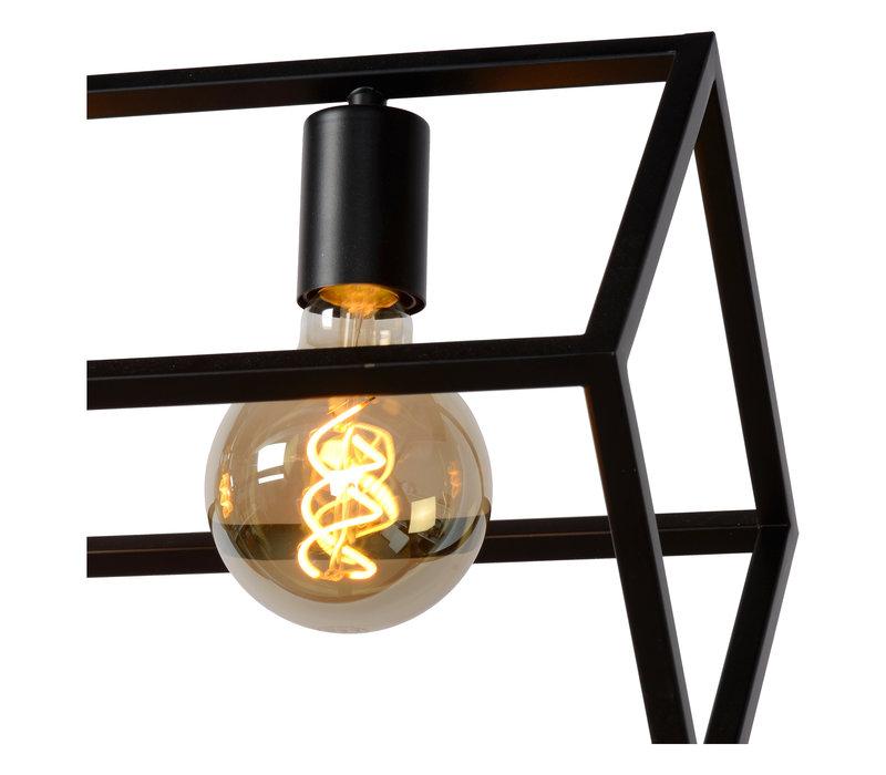 FABIAN Hanglamp 4xE27 Zwart
